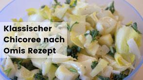 Kochen im Wohnmobil, Camping rezepte, Chicoree Salat
