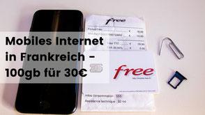 Mobiles Internet in Frankreich