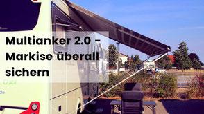 Multianker 2.0, wohnmobil markise sichern