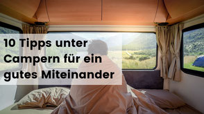 Wohnmobil, Camper Knigge