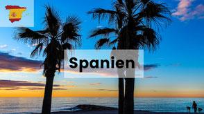 Wohnmobil urlaub mit hund in Spanien