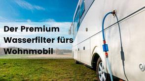 wasserfilter fürs wohnmobil, sauberes wasser im wohnmobil tanken