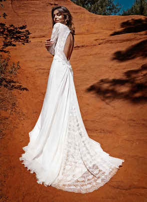 Robe de mariée made in france ecoresponsable Yvelines