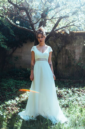 robe de mariée Camelia Elsa Gary