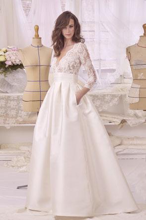 Robe de mariée princesse Monica