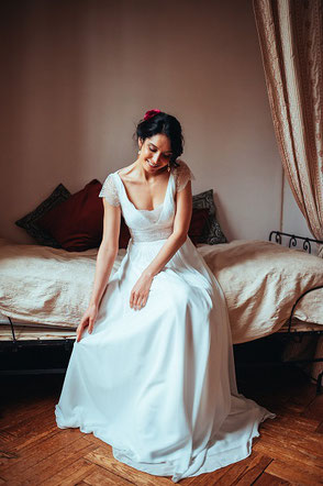 robe de mariée Elsa Gary Eglantine