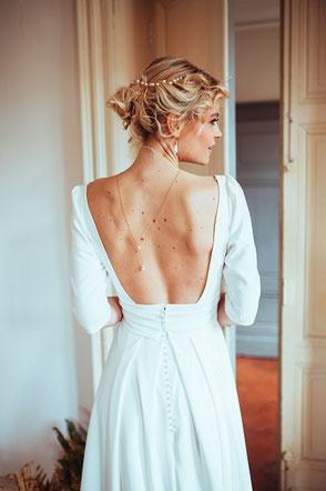 robe de mariée Lina par Elsa Gary Saint Germain en Laye Yvelines 78
