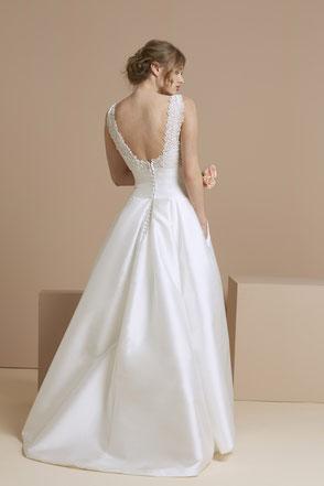 robe de mariée princesse en mikado de soie 78 Yvelines