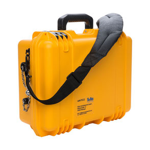 Produktfoto eines Koffer, Industriefotografie