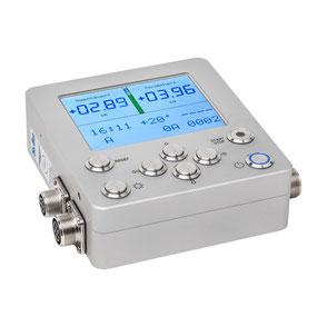 Produktfoto eines technischen Gerätes mit aktivem Display für Hamburg