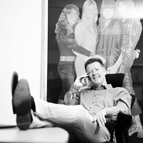 Der Chef - ausdrucksstarke Businessfotos und Business-Portraits in Hamburg