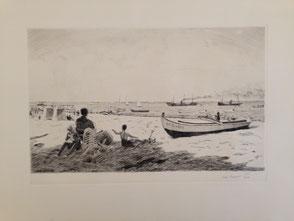 W. Van Hasselt. Antiquités Bassam. Bordeaux. Bassin Arcachon.