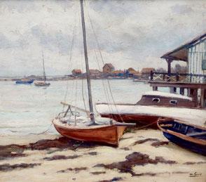 Marius Gueit, Bassin d'Arcachon. Bordeaux. Bassam