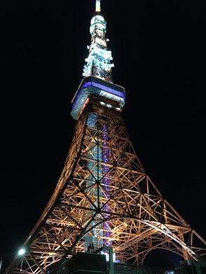 おなじみ東京タワー