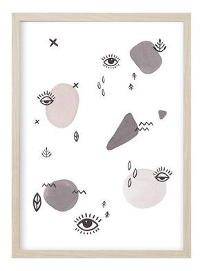 Modezeichnung, Poster Fashion, Poster Mode, Fashionillustration, Poster Spruch Mode, Poster Fashionquote