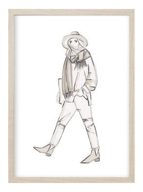 Fashion Mode Poster Kunstdruck