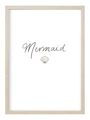 Poster Mermaid, Poster Meerjungfrau, Bild Kinderzimmer, Kunstdruck, Poster Kinderzimmer Mädchen, Geschenk zur Geburt, Poster Geburt
