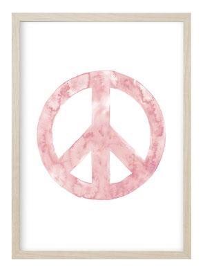 Kunstdruck, Poster, Poster Om Zeichen, Om Zeichen, Bild Om Zeichen, Poster Aquarell, Yoga Geschenkidee, Bild Yoga, Poster Yoga