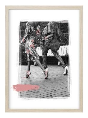 Kunstdruck, Poster Spruch, Poster Französisch, Poster Herz, Poster Liebe, Poster Französischer Spruch, Bild Herz, Bild Liebe