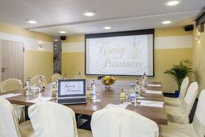 Tagungsraum im Hotel König von Preussen bei Bad Herrenalb