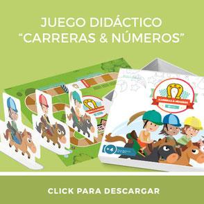 Descarga gratis juego didáctico para enseñar números carreras y números para imprimir