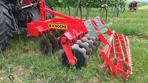 Knoche Weinbau Kurzscheibenegge DIM-W