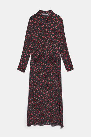 robe longue automne blog mode