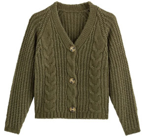 gilet automne grosse maille