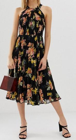 robe fleurie pour l'été