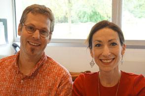 Florian Martinet et Fanny Coppey, directeurs pédagogiques