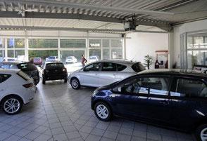 AutoCenter Voerde - unser Verkaufsraum