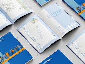 Bild zeigt ProfilPASS-Workbooks auf einem Tisch