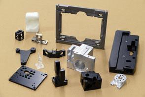 Rogenmoser Feinmechanik Beispiele für CNC Frästeile