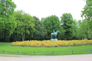 Der Tiergarten: Symbiose von Kunst und Natur.