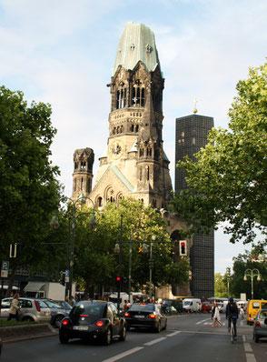 Kaiser-Wilhelm-Gedächtniskirche in Charlottenburg. Foto: Helga Karl