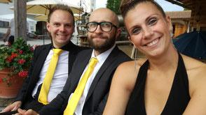 Hochzeitsband Bayern - Chris, Johannes & Verena