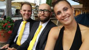 Hochzeitsband Augsburg - Christian, Johannes und Verena