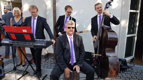 Hochzeitsband Bayern - Musik für Sektempfang