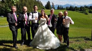 Hochzeitsband Bayern - Hochzeitsfeier im Allgäu