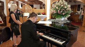 Hochzeitsband Bayern - Musik beim Empfang