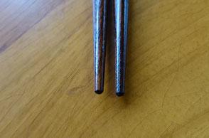 折れた箸は直せます。