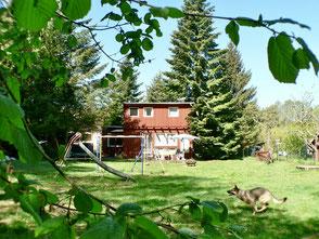 Ferienhaus mit Pool Mecklenburg MV Hund See