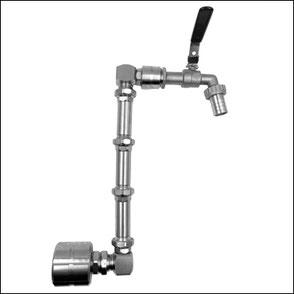 Zugpumpen für Stahlfässer und Kanister