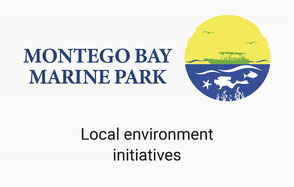 Montego Bay Marine Park Logo and Irielab Cooperation with Them