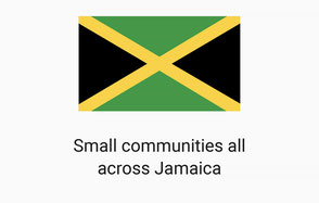 Flag of Jamaica - Irielab tours support small communities all across the island