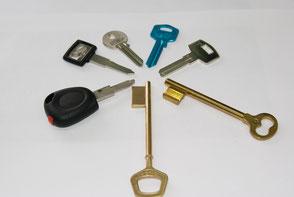 tous type de reproduction de clés
