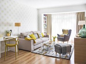 Pintores Barcelona pintar un piso 70m2. Pintor piso gracia
