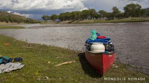 Les rivières mongols en canoe