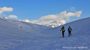 Ski dans l'Altai