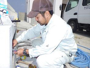 水道の修繕工事